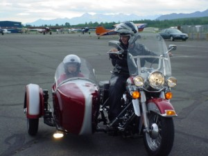 MDA Alaska Live to Ride - Alaska Homes by Brooke on Harley