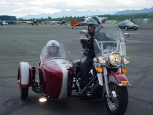 MDA Alaska Live to Ride - Alaska Homes by Brooke on Harley